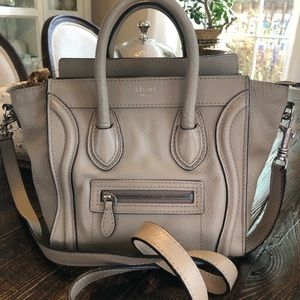 Certified authentic Celine Nano Luggage